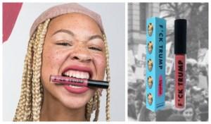 LipSlut F*ckTrump Black Lives Matter