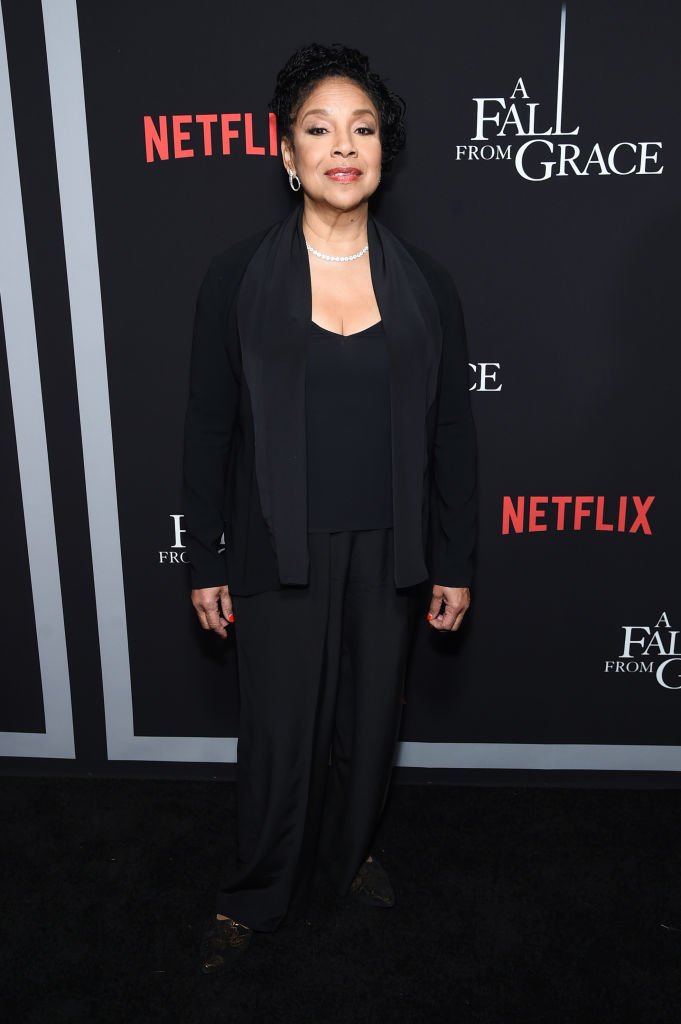 """PHYLICIA RASHAD AT THE TYLER PERRY """"A FALL FROM GRACE"""" PREMIERE, 2020"""