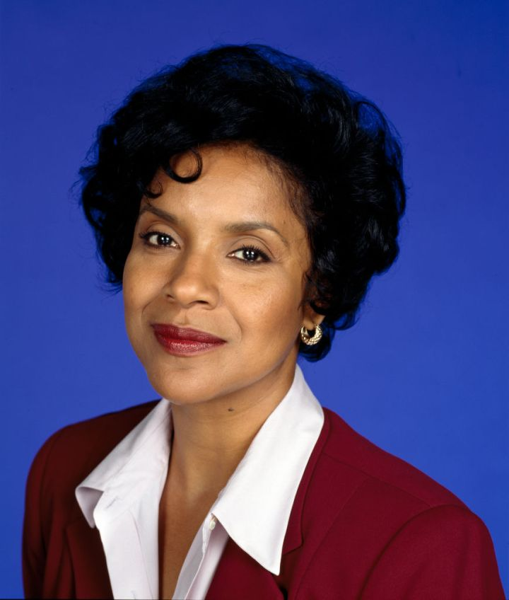 PHYLICIA RASHAD IN A PROMO SHOT FOR THE COSBY SHOW, 96