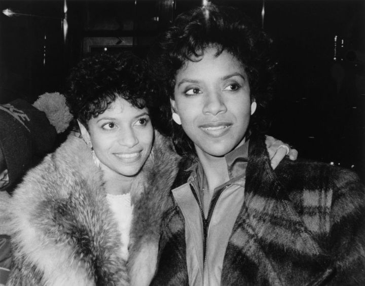 SISTERS PHYLICIA RASHAD AND DEBBIE ALLEN, 1985