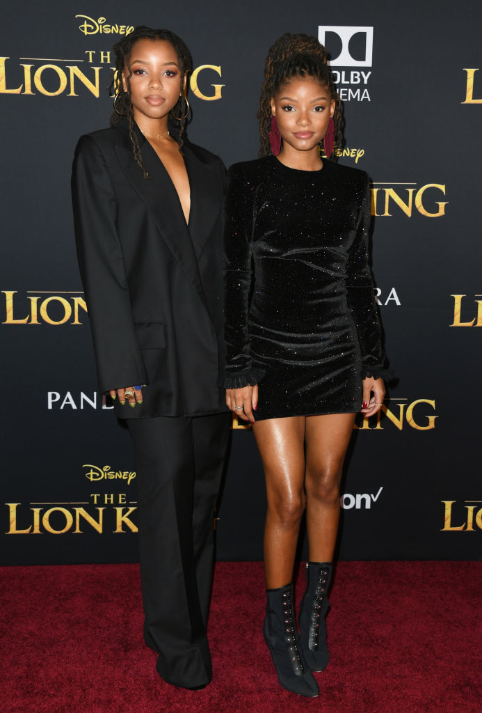 """CHLOE X HALLE AT THE PREMIERE OF DISNEY'S """"THE LION KING"""" 2019"""