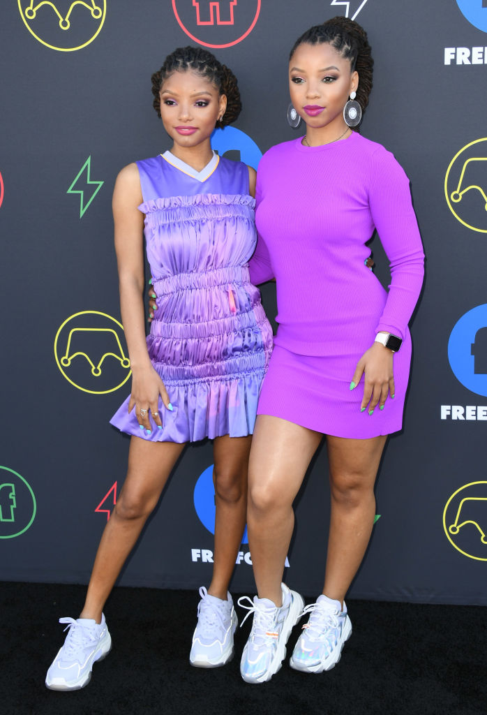 CHLOE X HALLE AT THE 2ND ANNUAL FREEFORM SUMMIT, 2019