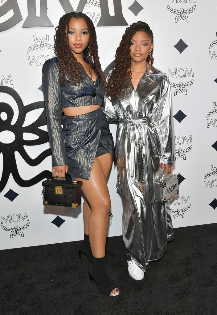 CHLOE X HALLE AT THE MCM GLOBAL FLAGSHIP STORE GRAND OPENING, 2019
