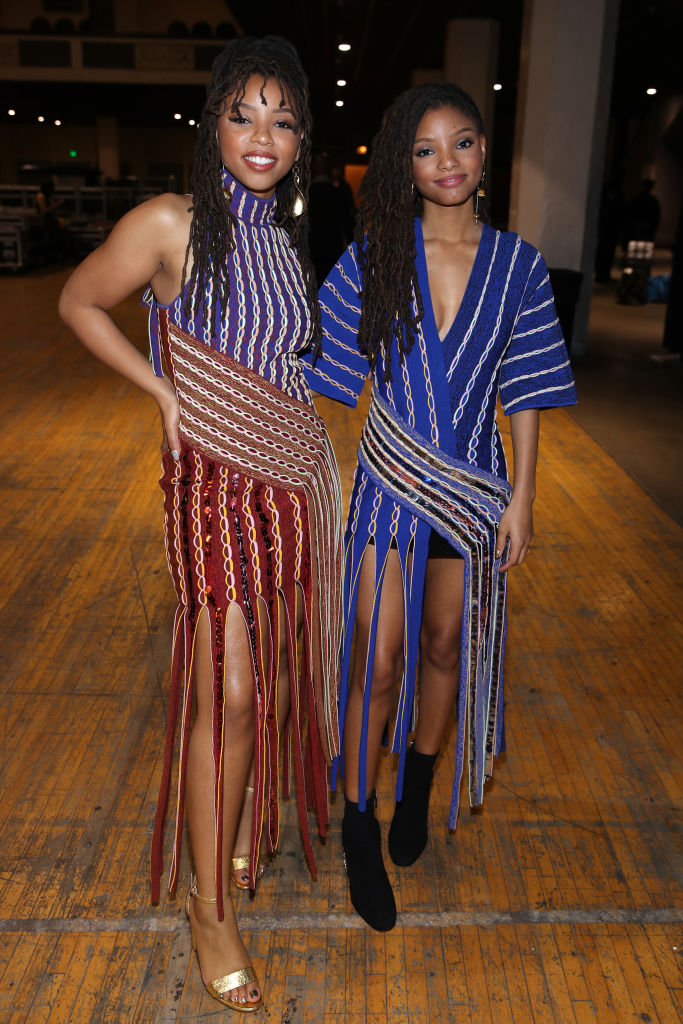 """CHLOE X HALLE AT THE """"ARETHA! A GRAMMYCELEBRATION FOR THE QUEEN OF SOUL"""" 2019"""