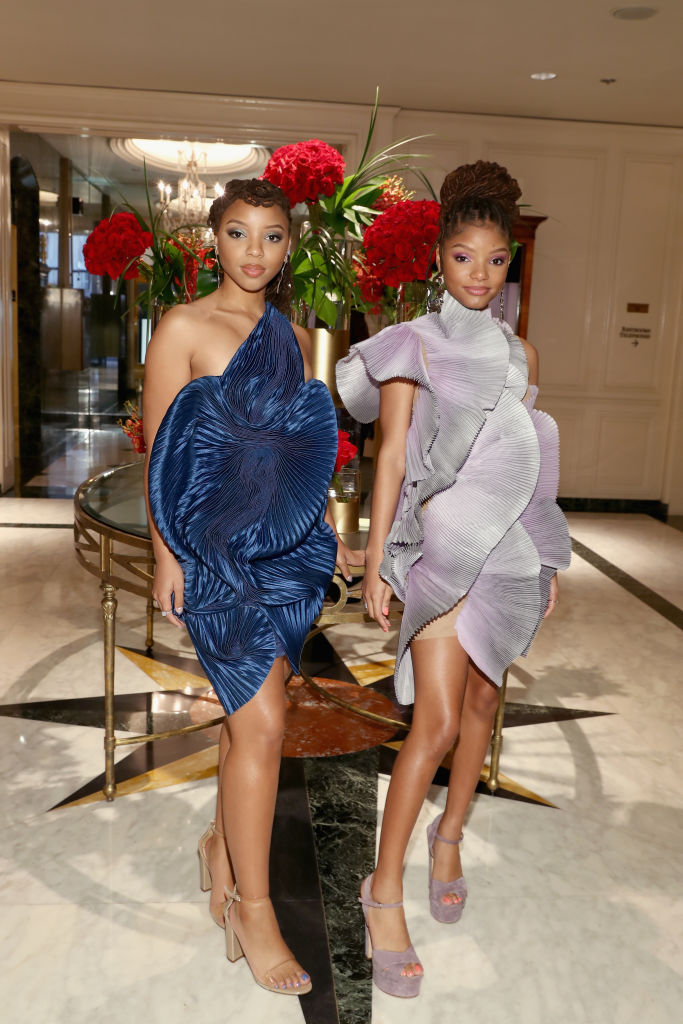 CHLOE X HALLE AT THE ESSENCE BLACK WOMEN IN HOLLYWOOD AWARDS LUNCHEON, 2019