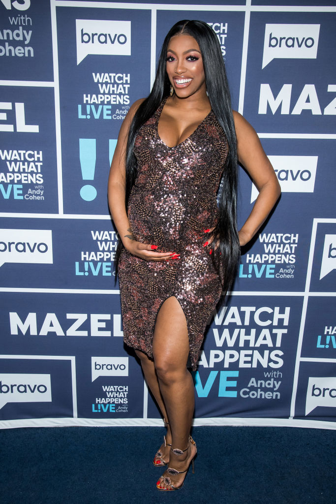 PORSHA WILLIAMS AT WATCH WHAT HAPPENS LIVE WITH ANDY COHEN, 2018