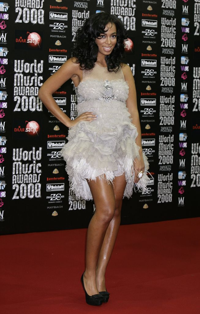 SOLANGE KNOWLES AT THE WORLD MUSIC AWARDS, 2008