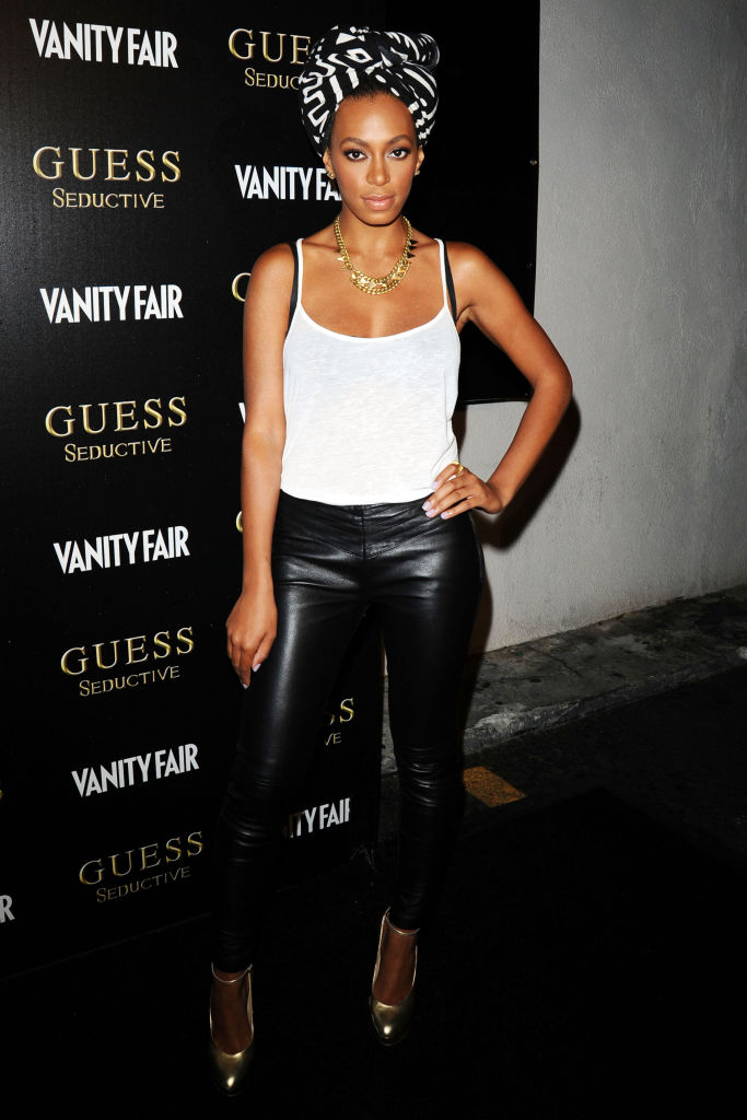 SOLANGE KNOWLES AT THE WORLDWIDE LAUNCH OF GUESS SEDUCTIVE, 2010
