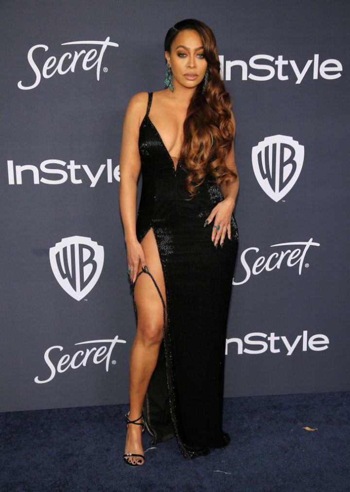 LA LA ANTHONY AT THE 21ST ANNUAL WARNER BROS. AND INSTYLE GOLDEN GLOBE AFTER PARTY, 2020