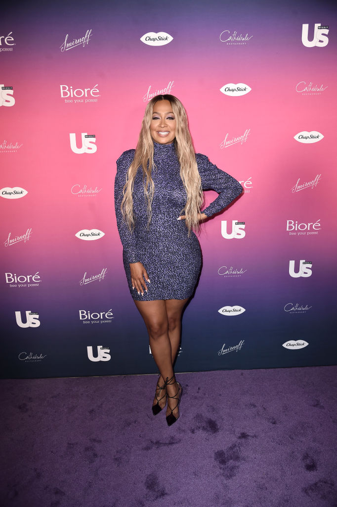 LA LA ANTHONY AT THE US WEEKLY MOST STYLISH NEW YORKERS EVENT, 2019
