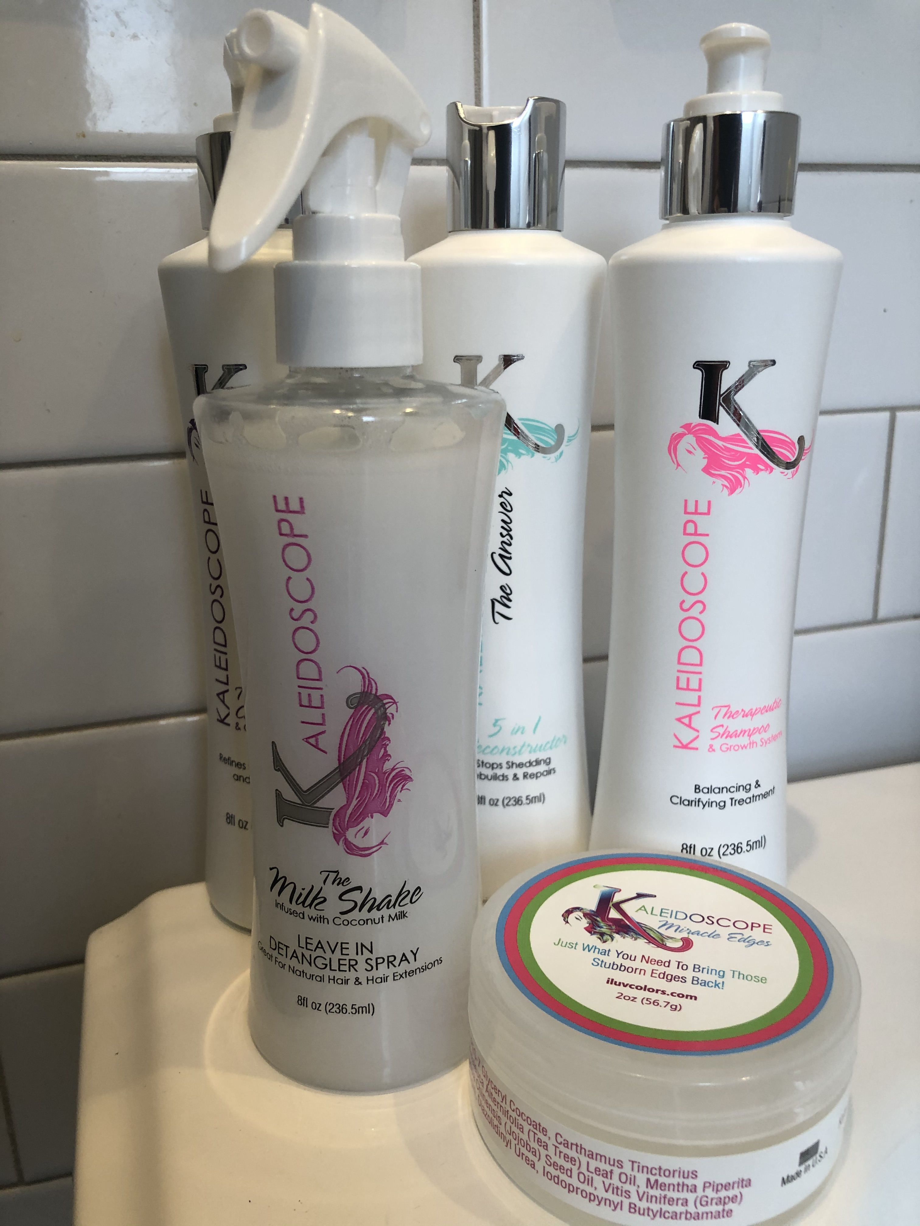 Kaleidoscope Hair Products