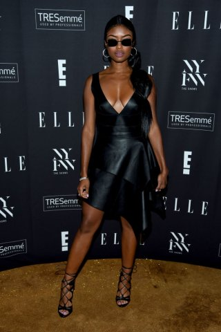 E!, ELLE, & IMG Presented By TRESemmé Host NYFW Kick-Off Party – Arrivals