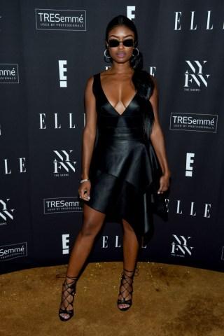 E!, ELLE, & IMG Presented By TRESemmé Host NYFW Kick-Off Party – Arrivals
