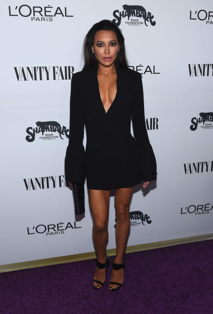 NAYA RIVERA AT THE VANITY FAIR AND L'OREAL PARIS 'TOAST TO YOUNG HOLLYWOOD' EVENT, 2017
