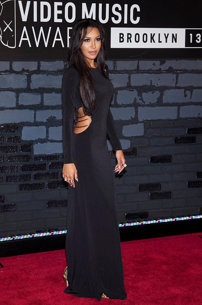 NAYA RIVERA AT THE MTV VIDEO MUSIC AWARDS, 2013