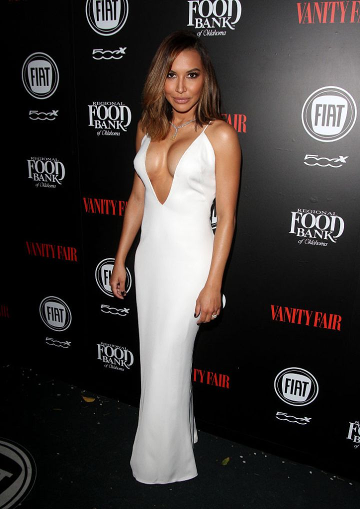 NAYA RIVERA AT THE VANITY FAIR AND FIAT 'TOAST TO YOUNG HOLLYWOOD' EVENT, 2016