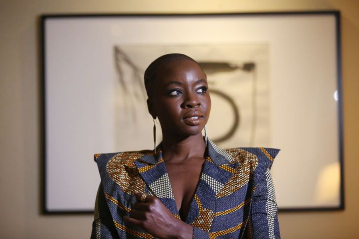 Danai Gurira says Black Panther breaks some barriers that we really need to see broken.
