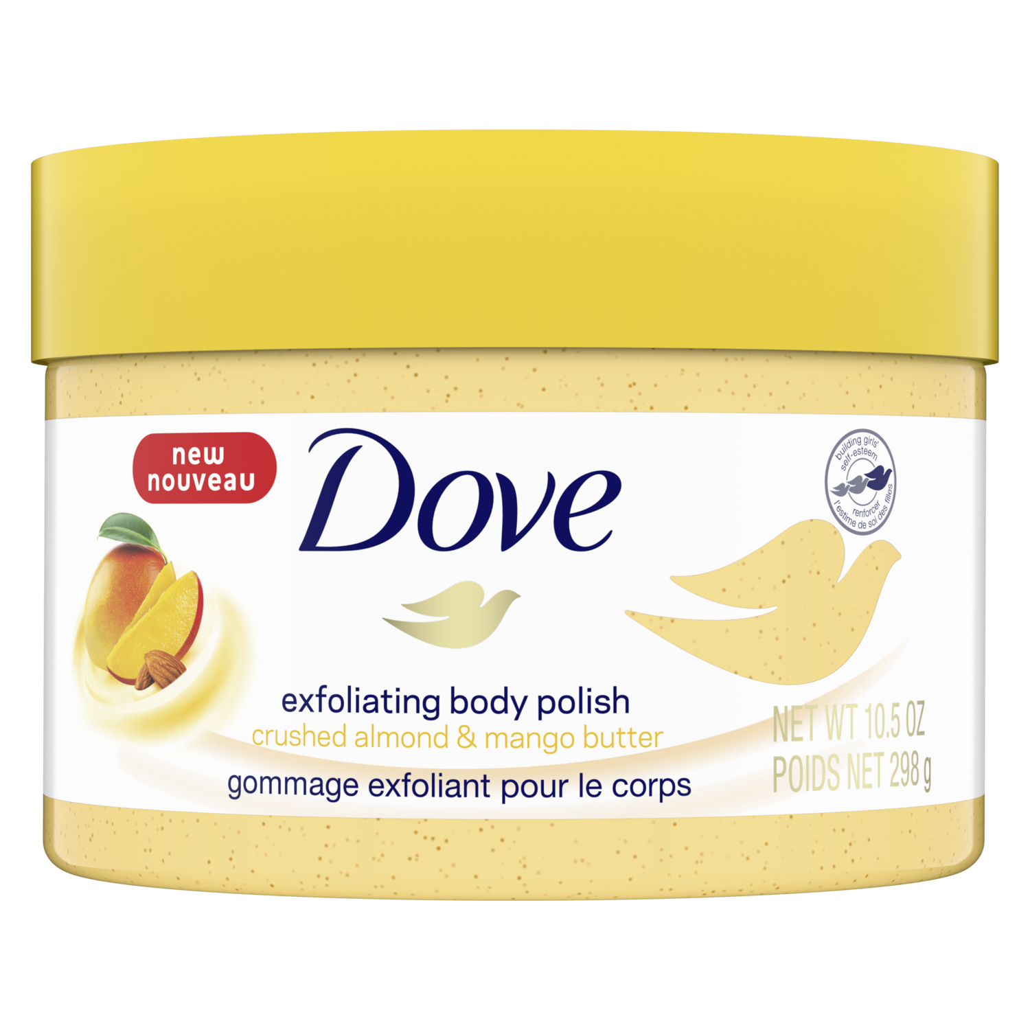 Dove Mango Almond Butter Exfoliating Body Polish