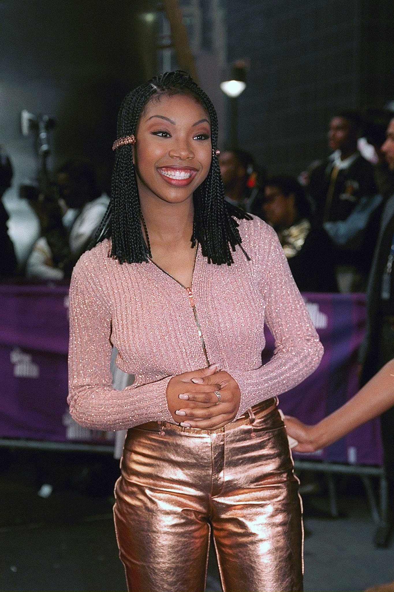 Singer Brandy attending Essence Awards at Madison Square Gar