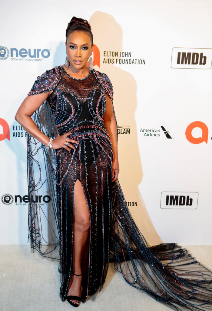 VIVICA A. FOX AT THE 92NS ACADEMY AWARDS - ELTON JOHN AIDS FOUNDATION VIEWING PARTY, 2020