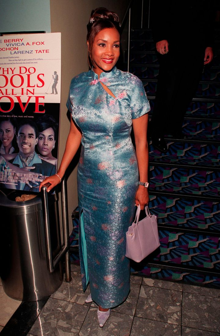 "VIVICA A. FOX AT THE ""WHY DO FOOLS FALL IN LOVE"" PREMIERE, 1998"