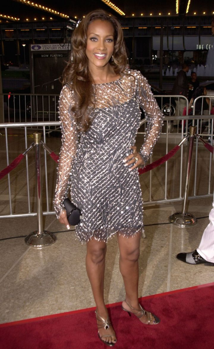 "VIVICA A. FOX AT THE ""TWO CAN PLAY AT THAT GAME"" PREMIERE, 2001"