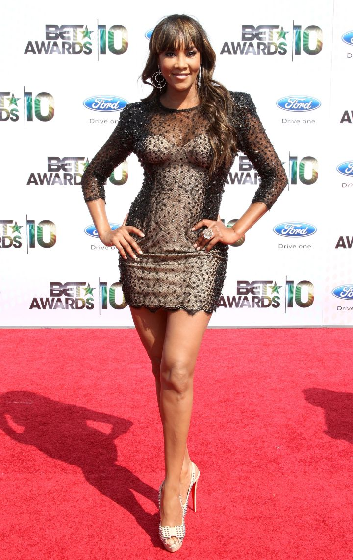 VIVICA A. FOX AT THE BET AWARDS, 2010