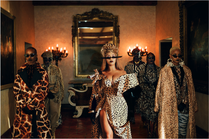 Mood 4 Eva Image from Beyonce's Visual Album Black is King on Disney +