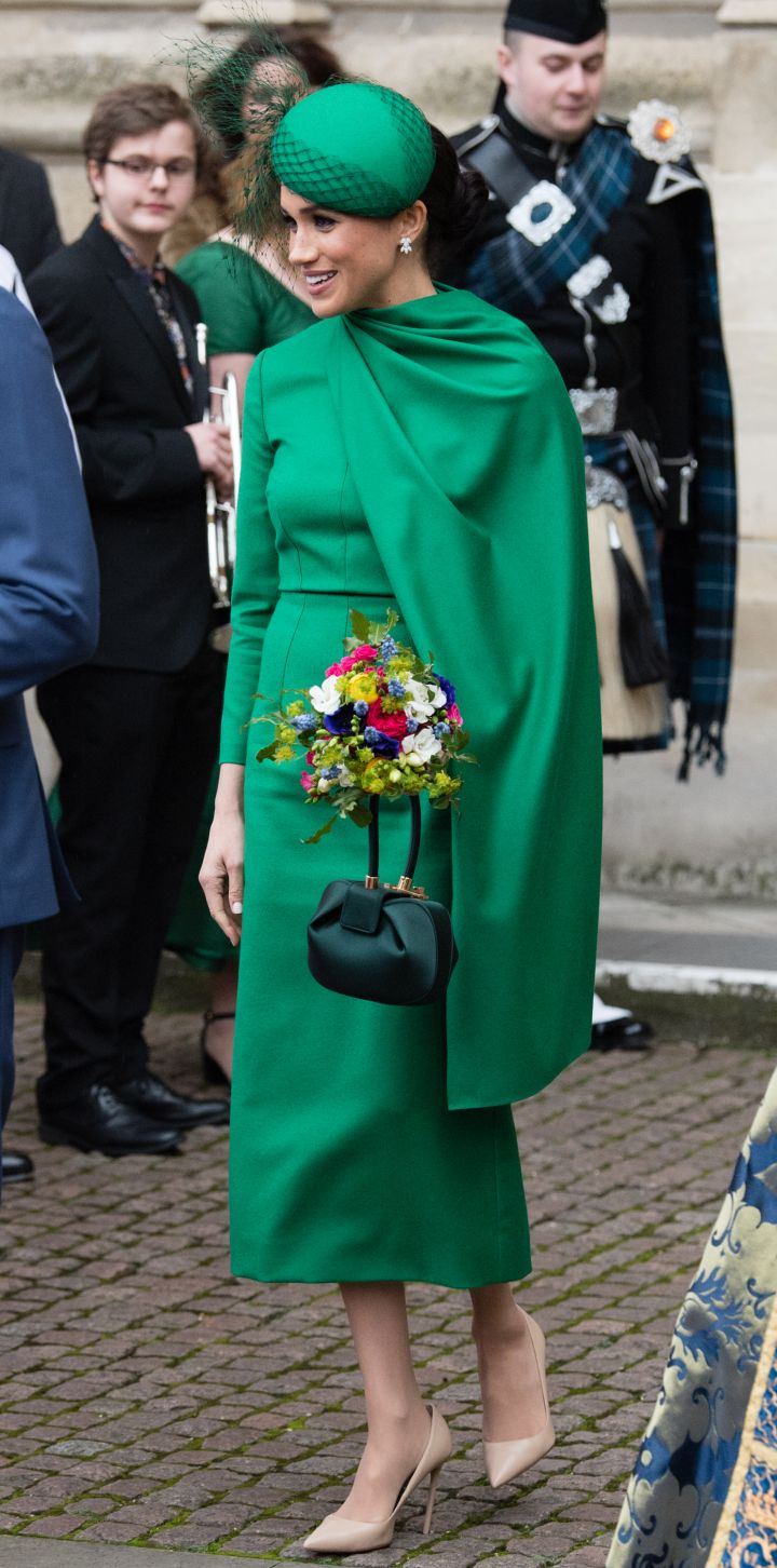 MEGHAN MARKLE AT THE COMMONWEALTH DAY SERVICE, 2020