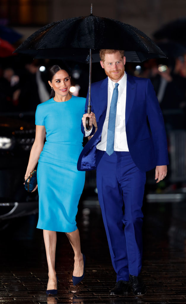 MEGHAN MARKLE AND PRINCE HARRY AT THE ENDEAVOUR FUND AWARDS, 2020