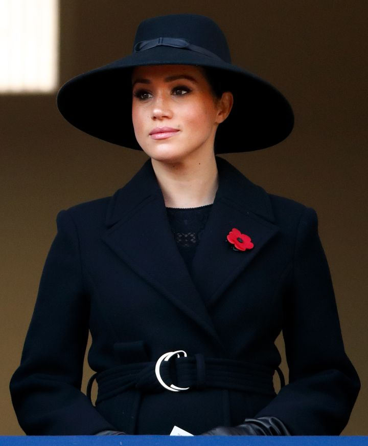 MEGHAN MARKLE AT THE REMEMBERACE SUNDAY CENOTAPH SERVICE, 2019