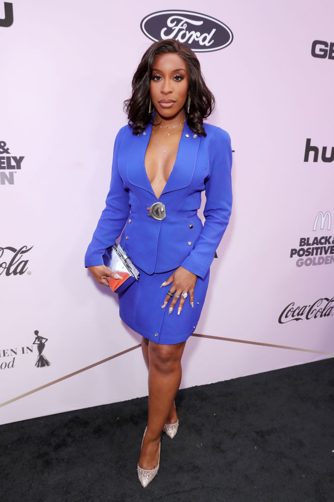 JACKIE AINA AT THE 13TH ANNUAL ESSENCE BLACK WOMEN IN HOLLYWOOD LUNCHEON, 2020