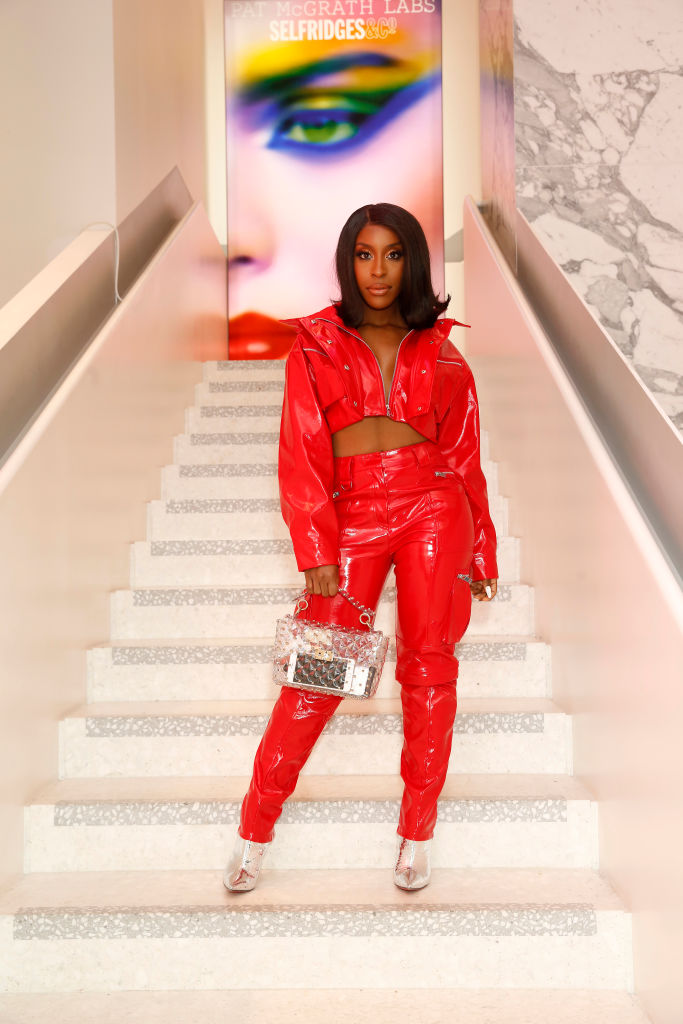 JACKIE AINA AT THE PAT MCGRATH 'A TECHNICOLOUR ODYSSEY' CAMPAIGN LAUNCH PARTY, 2019