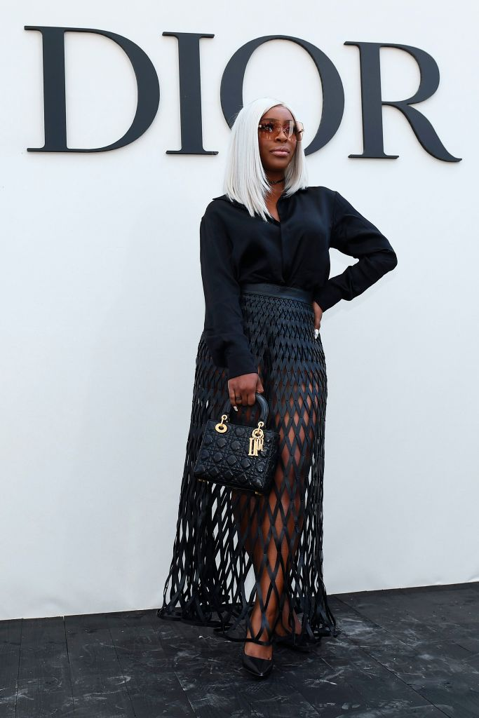 JACKIE AINA AT THE CHRISTIAN DIOR SS19 SHOW, 2018