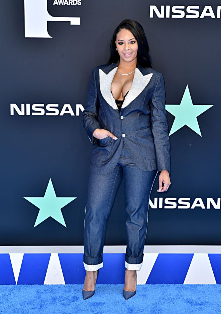 VANESSA SIMMONS AT THE BET AWARDS, 2019