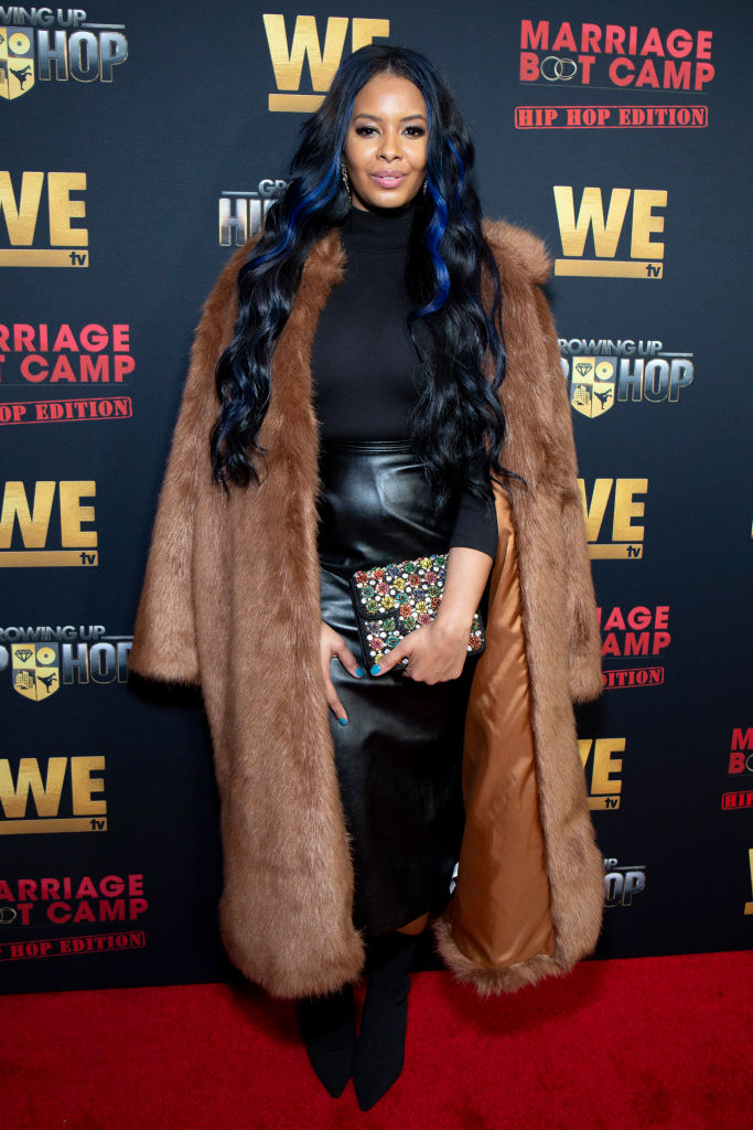 VANESSA SIMMONS AT THE WE TV HOSTS PREMIERE FOR HIP HOP THURSDAY, 2019