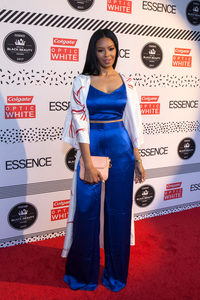 VANESSA SIMMONS AT THE ESSENCE CELEBRATES THE 2017 ESSENCE BEST IN BLACK BEAUTY AWARDS, 2017