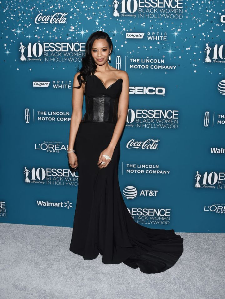VANESSA SIMMONS AT THE ESSENCE 10TH ANNUAL BLACK WOMEN IN HOLLYWOOD AWARDS GALA, 2017