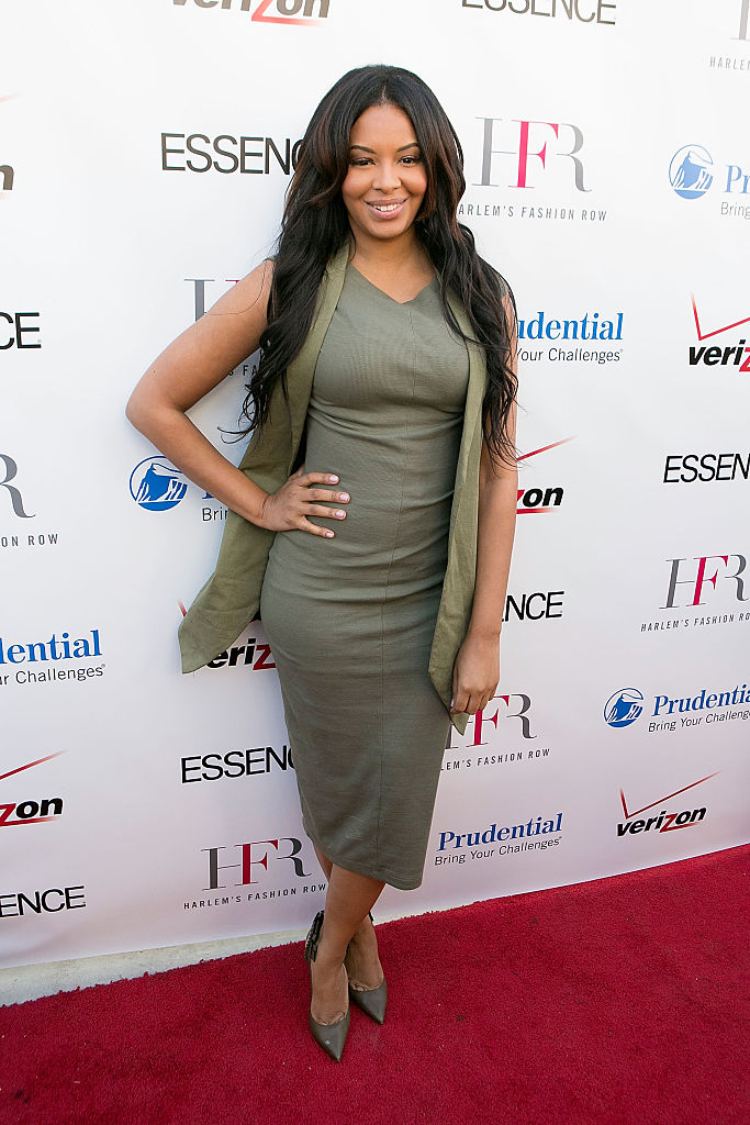 VANESSA SIMMONS AT THE HARLEM FASHION ROW PRESENTS STYLE BEAT EVENT, 2015