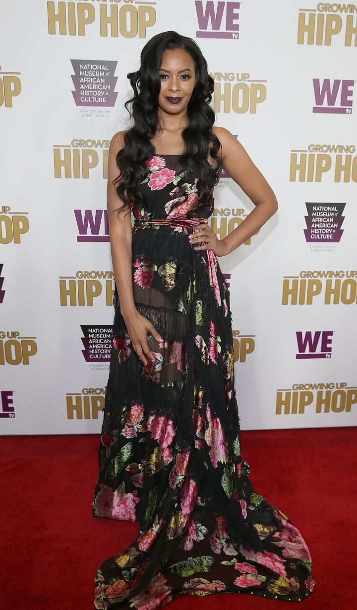 VANESSA SIMMONS AT THE WETV CELEBRATES THE RETURN OF GROWING UP HIP HOP SEASON 3, 2017