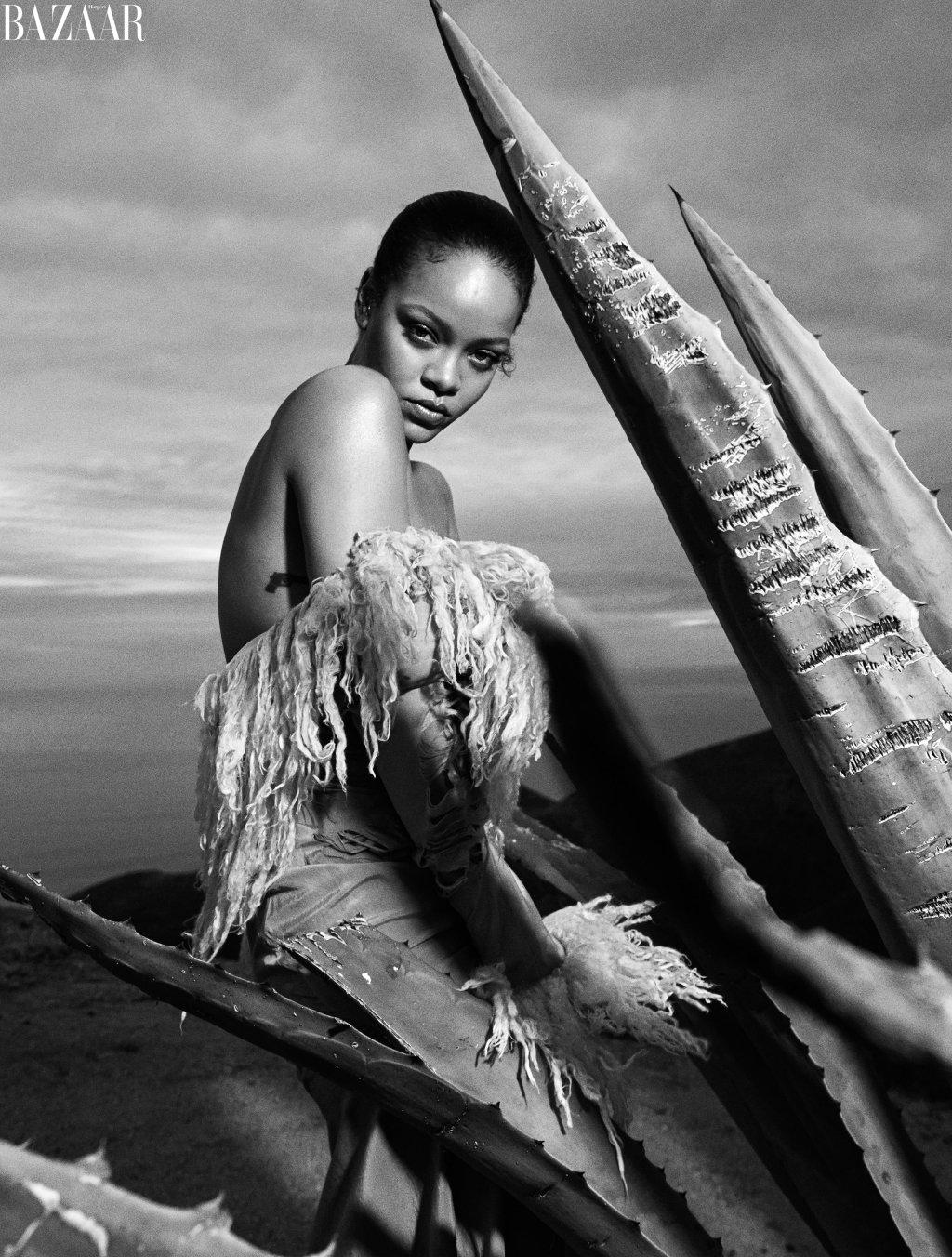 Rihanna Harper's Baazar