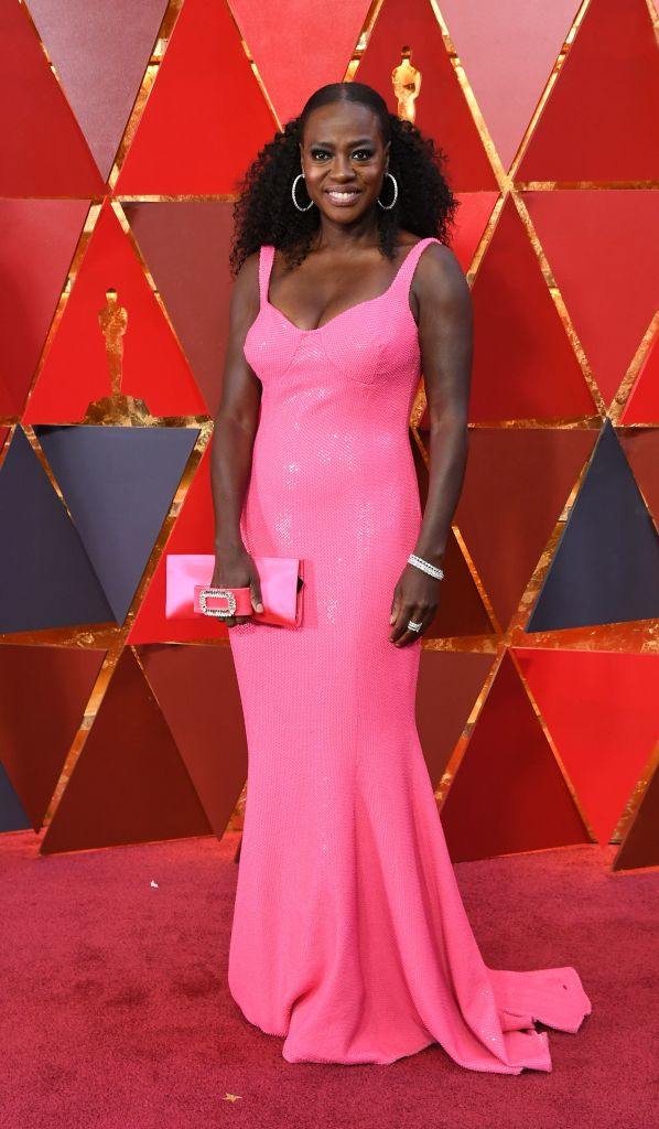 VIOLA DAVIS AT THE 90TH ANNUAL ACADEMY AWARDS, 2018
