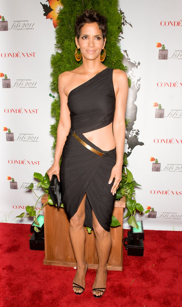 HALLE BERRY AT THE FIFI AWARDS, 2011
