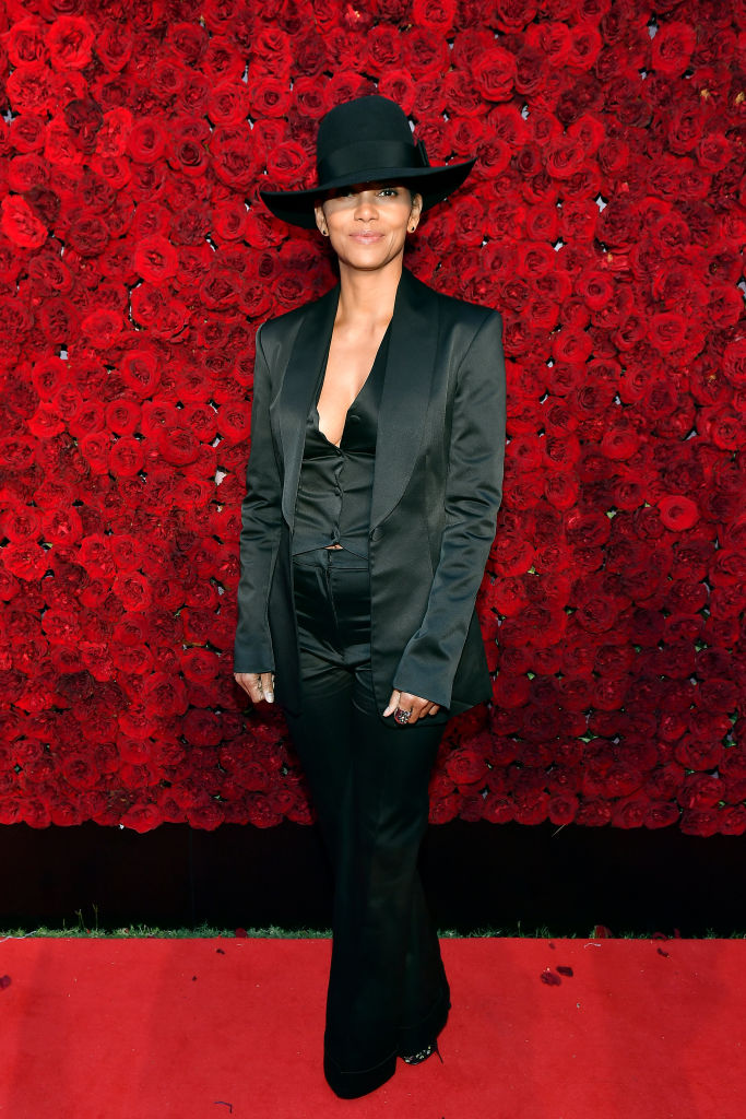 HALLE BERRY AT TYLER PERRY STUDIOS GRAND OPENING, 2019
