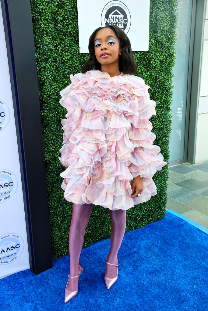 MARSAI MARTIN AT THE NATIONAL ALUMNAE ASSOCIATION OF SPELMAN COLLEGE LOS ANGELES CHAPTER SISTERS' AWARDS BRUNCH, 2020