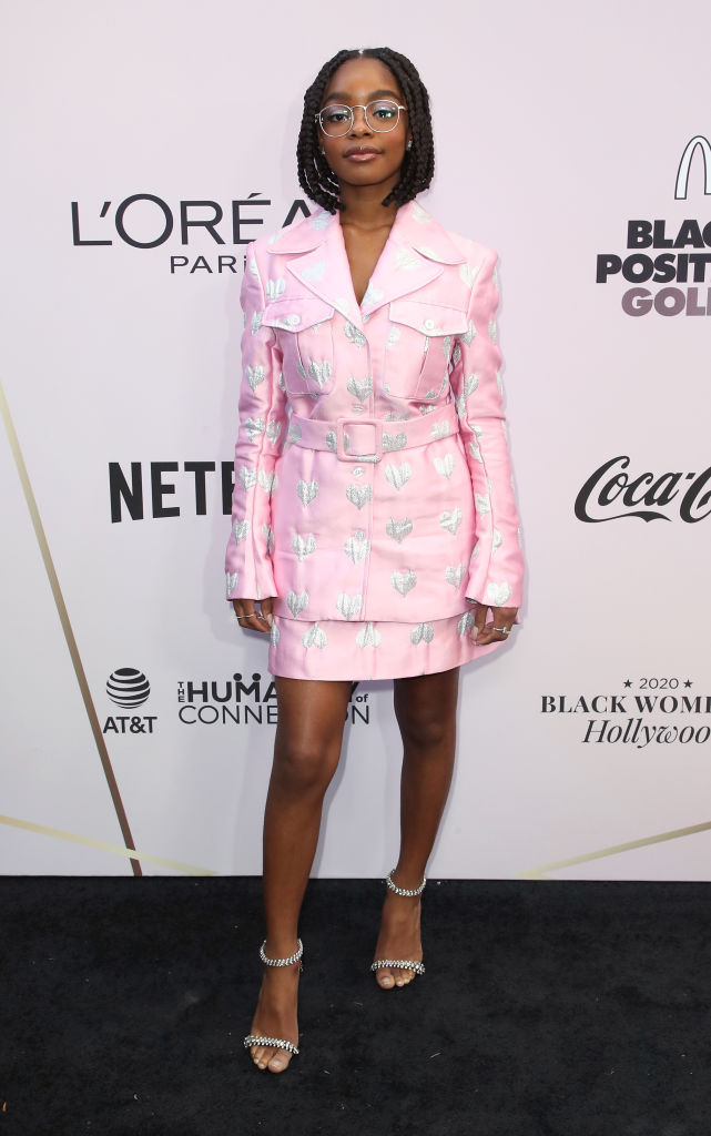 MARSAI MARTIN AT THE 13TH ANNUAL ESSENCE BLACK WOMEN IN HOLLYWOOD AWARDS LUNCHEON, 2020