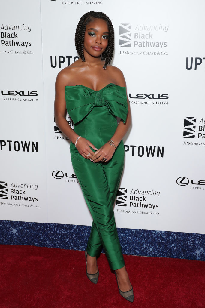 MARSAI MARTIN AT THE LEXUS UPTOWN HONORS HOLLYWOOD EVENT, 2020