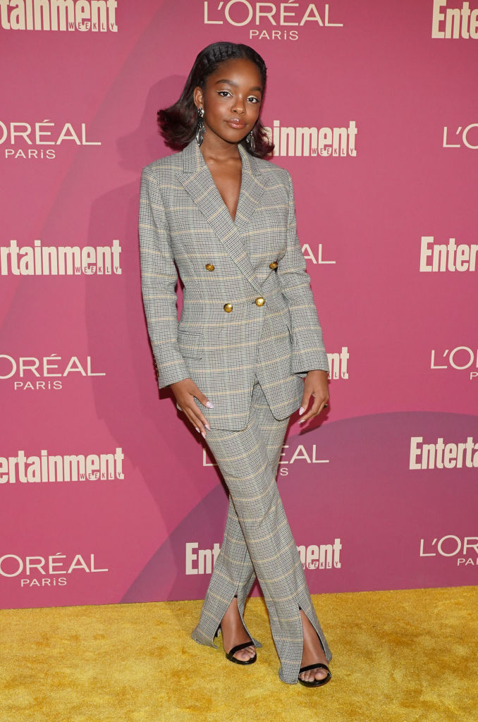 MARSAI MARTIN AT ENTERTAINMENT WEEKLY'S PRE-EMMY PARTY, 2019