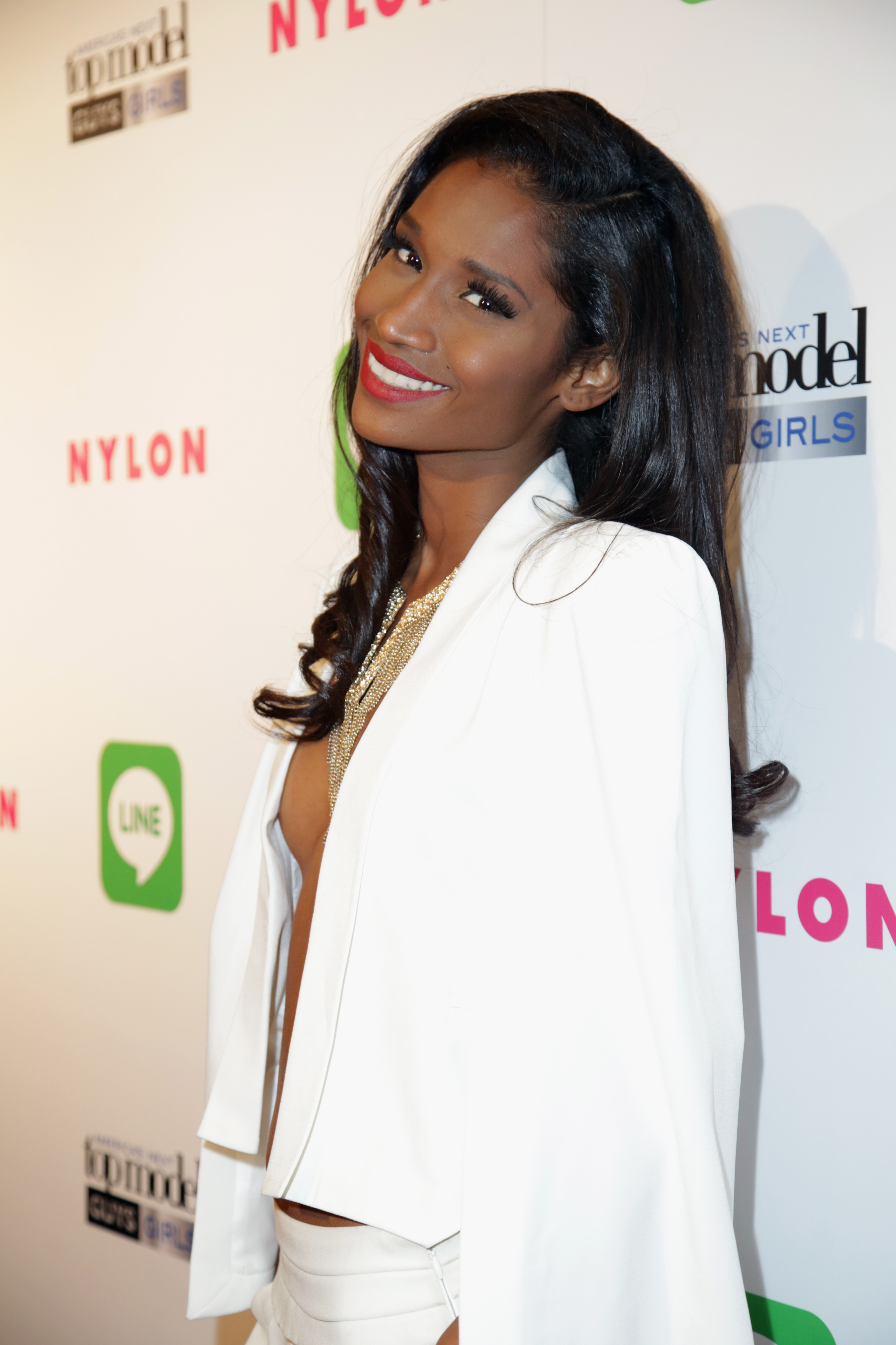 America's Next Top Model Cycle 21 Premiere Party Presented By NYLON And LINE