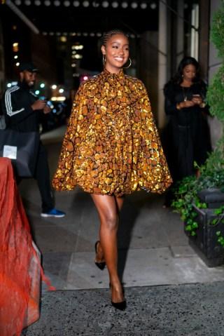 Celebrity Sightings In New York City - October 11, 2019